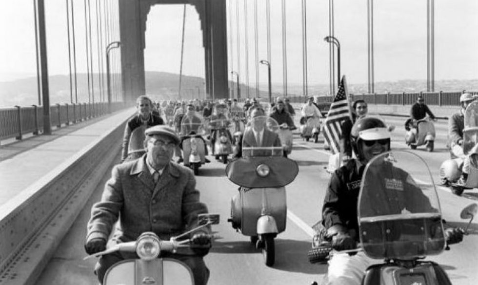 san-francisco-pioneer-scooter-club-circa-1960-ivespa - Scooter Cannonball Run is an exciting event that happens every two years