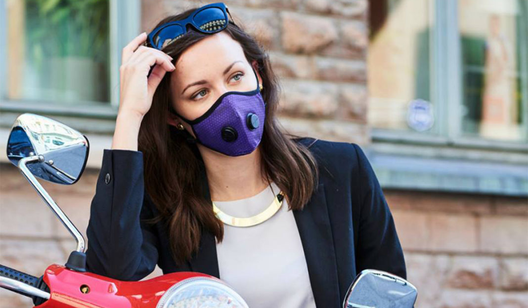 guide to scooter air pollution masks ivespa. Black Bedroom Furniture Sets. Home Design Ideas